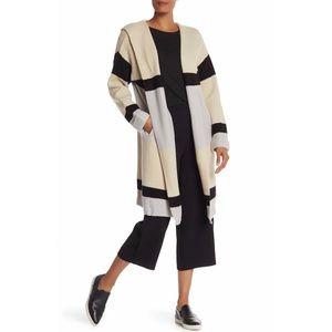 NWT Hooded Stripe Cardigan NWT